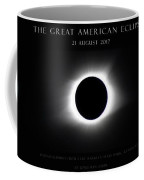Great American Eclipse - Triptych Coffee Mug