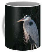Great Blue At Rest Coffee Mug