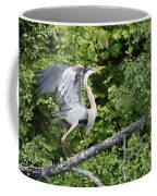Great Blue Ballet Coffee Mug