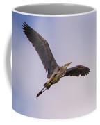 Great Blue Gliding Coffee Mug