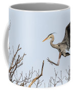 Great Blue Heron 2014-4 Coffee Mug
