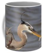 Great Blue Heron Gets Twofer Coffee Mug