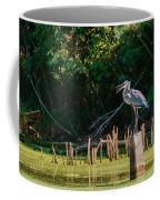 Great Blue Heron Mouth Coffee Mug