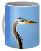 Great Blue Walter Coffee Mug
