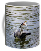 Great Blue With A Drum Coffee Mug