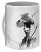 Great Blues II Sketch Coffee Mug