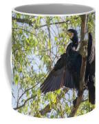 Great Cormorant - High In The Tree Coffee Mug