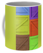 Great Crates - Multicolored Packing Boxes Stacked Coffee Mug
