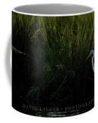 Great Egret At Ft George Inlet  Coffee Mug