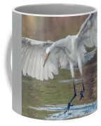 Great Egret Chase 072316-9861-2cr Coffee Mug