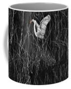 Great Egret Inthe Marsh Coffee Mug
