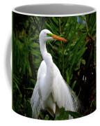 Great Egret Nesting Coffee Mug
