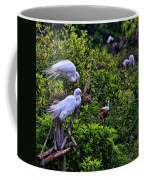 Great Egret Pair Coffee Mug