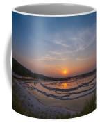 Great Fountain Geyser Sunset  Coffee Mug