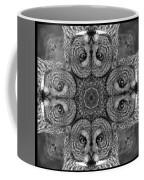 Great Gray Owl Stare Down Coffee Mug