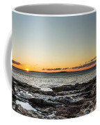 Great Head Beach Sunrise Coffee Mug