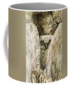 Great Horned Owl Chick Coffee Mug