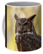Great Horned Owl In A Tree 1 Coffee Mug