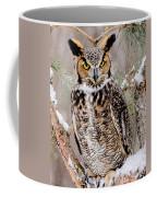 Great Horned Owl Nature Wear Coffee Mug