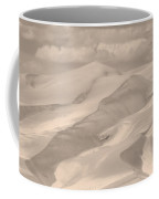 Great Sand Dunes  - In Sepia Coffee Mug