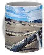 Great Sand Dunes National Park Driftwood Landscape Coffee Mug