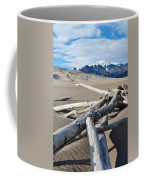 Great Sand Dunes National Park Driftwood Portrait Coffee Mug