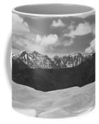 Great Sand Dunes Panorama 1 Bw Coffee Mug by James BO  Insogna