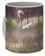 Great White Egret - 3 Coffee Mug