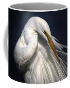 Great White Egret Print One Coffee Mug