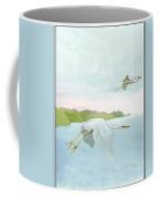 Great White Heron 1 Roger Bansemer Coffee Mug