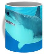 Great White Shark Close-up Coffee Mug