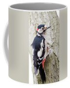 Greater Spotted Woodpecker Coffee Mug