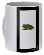 Gree Tree Frog 2016 With Black Border Coffee Mug