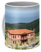 Greece Summer Vacation Landscape Coffee Mug