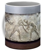 Greece: Wrestlers Coffee Mug