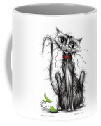 Greedy The Cat Coffee Mug