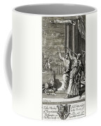 Greek Astronomer Studying The Stars Coffee Mug