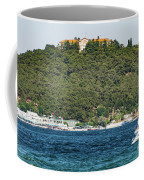 Greek Orthodox School And The Sea Of Marmara Coffee Mug