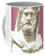 Greek Statue #3 - Dark Red Coffee Mug