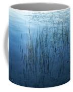 Green And Blue Serenity - Smooth Wetland Morning Coffee Mug