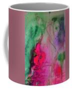 Green And Pink Coffee Mug
