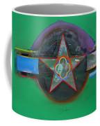 Green And Violet Coffee Mug