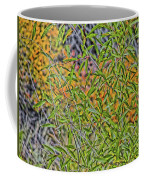 Green And Yellow Coffee Mug