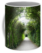 Green Arbor Of Mirabell Garden Coffee Mug