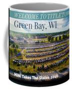 Green Bay Evening 1 W/text Coffee Mug