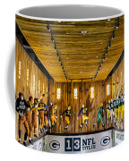 Green Bay Packers Uniforms Then And Now Coffee Mug
