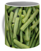 Green Beans Close-up Coffee Mug
