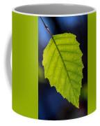 Green Beech Leaf 1 Coffee Mug