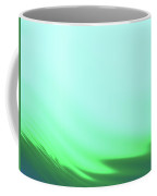 Green Blue Waves Coffee Mug