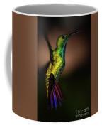 Green Breasted Mango Hummingbird Coffee Mug